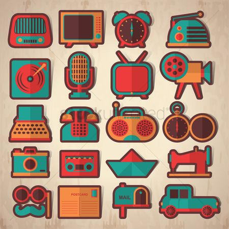 Transport : Vintage icons