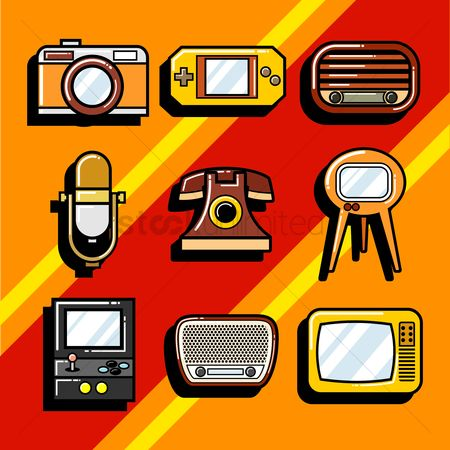Broadcasting : Vintage items collection
