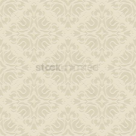 Flower : Vintage pattern background