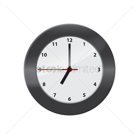 Minute : Wall clock