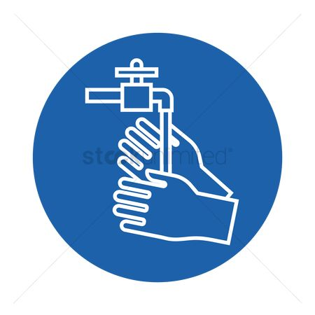 Faucets : Washing hands