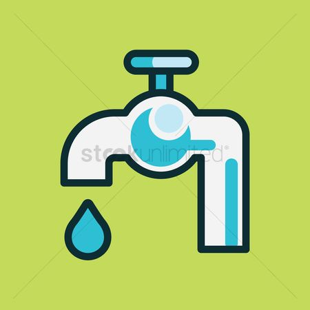 Drips : Water tap with drop