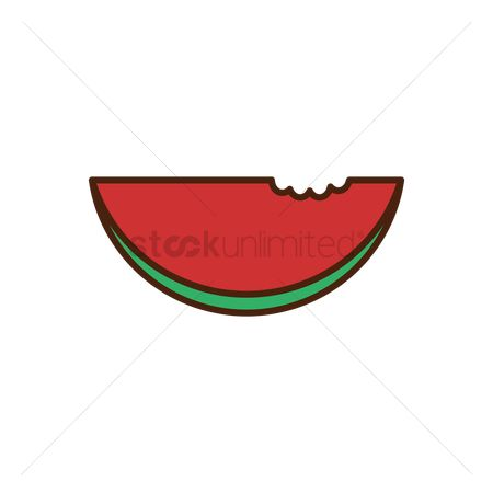 Watermelon slice : Watermelon icon