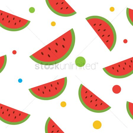 Watermelon : Watermelon seamless pattern