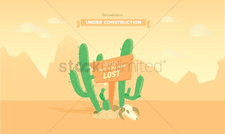 Cactuses : Website under construction