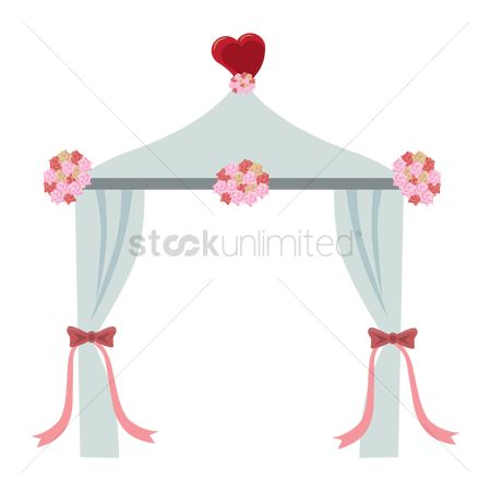 Cloth : Wedding arch
