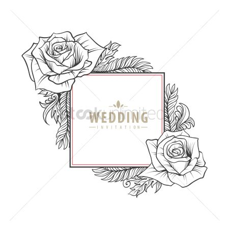 Weddings : Wedding invitation card