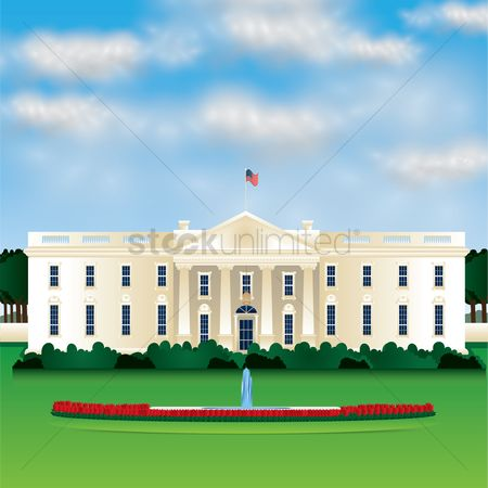 Monuments : White house