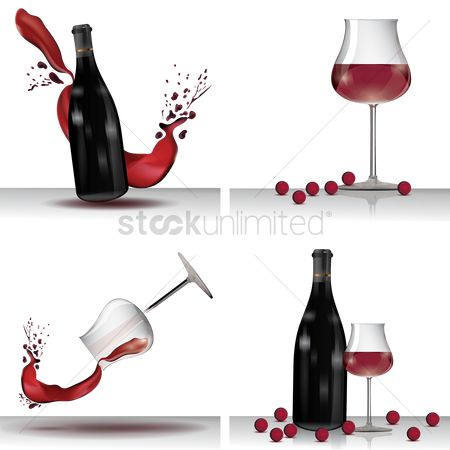 Red wine : Wine collection