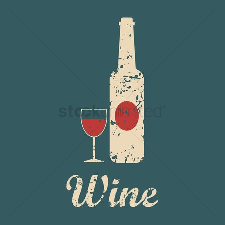 Red wines : Wine menu title