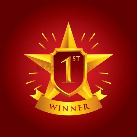 free winner banner stock vectors stockunlimited
