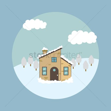 Cottages : Winter house