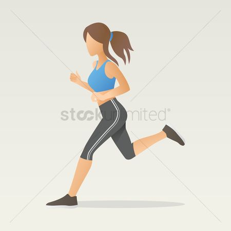 Lifestyle : Woman running