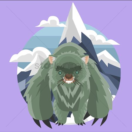 Claws : Wombat monster in the mountains
