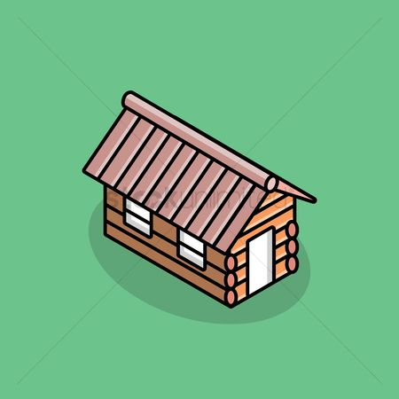 Cottage : Wooden house