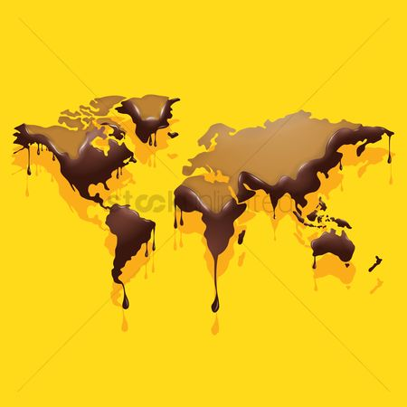 Drips : World map design
