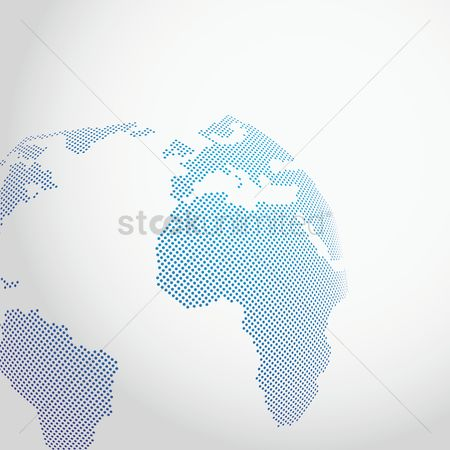 Country : World map design