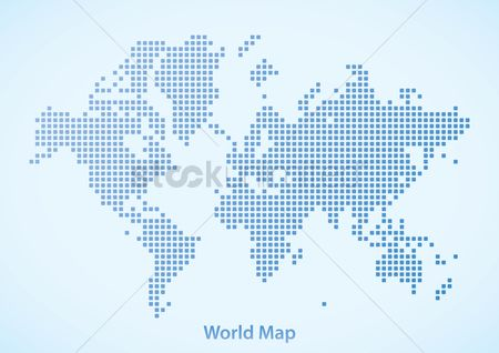 Grids : World map design