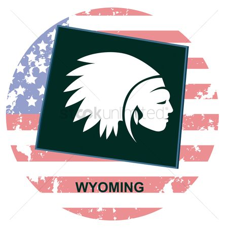 Headdress : Wyoming state