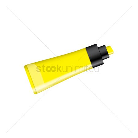 Highlighters : Yellow highlighter