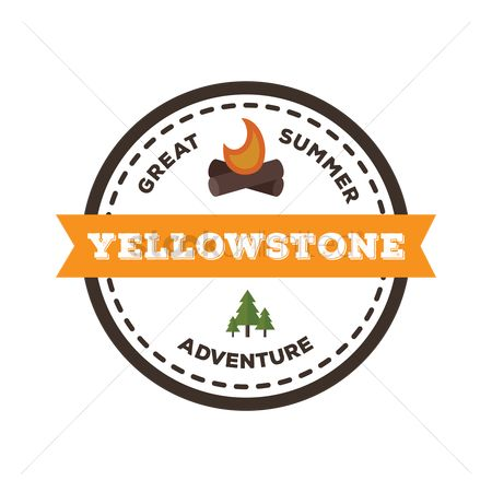 Logs : Yellowstone label
