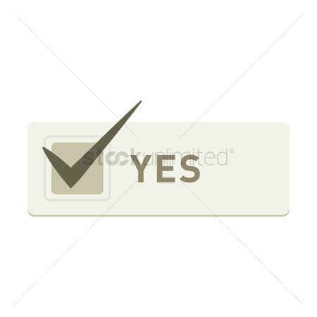 Free Yes Stock Vectors   StockUnlimited