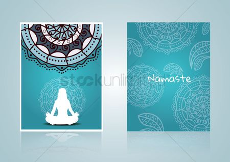 Health : Yoga poster design
