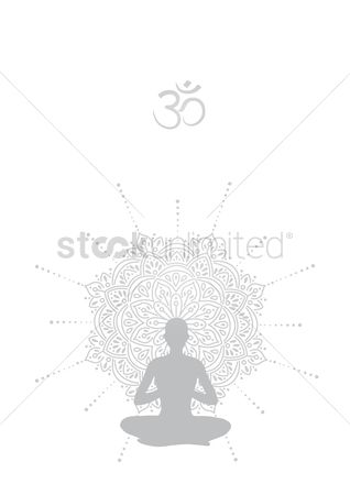 Relaxing : Yoga poster design