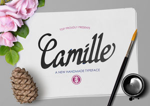 Fonts : Camille