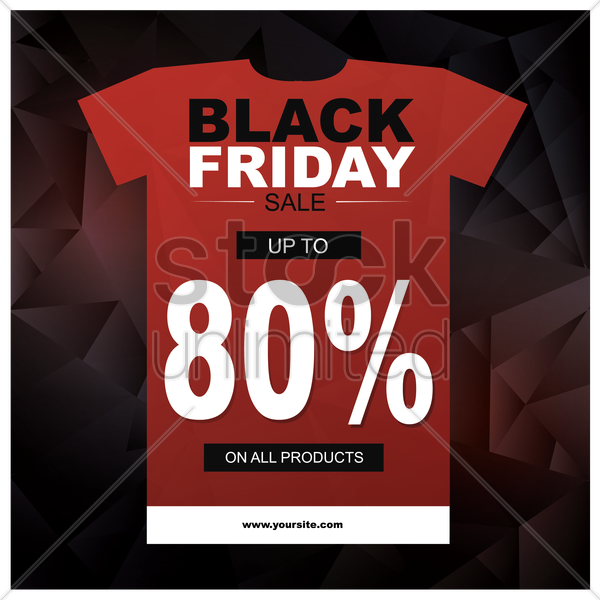 black friday sale wallpaper vector graphic