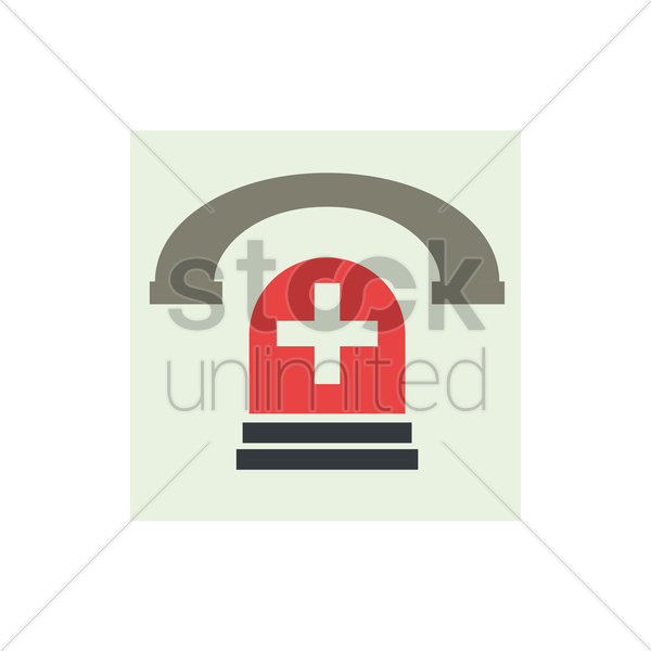 emergency icon vector graphic