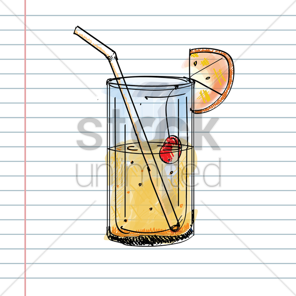 fruit juice vector graphic