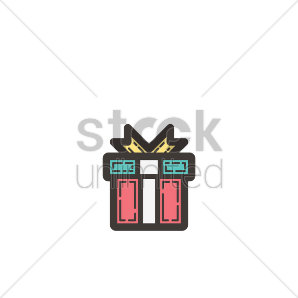 Gift icon Vector Image - 1962445 | StockUnlimited