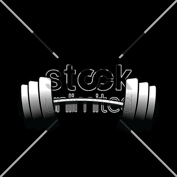 Gym Club Label Vector Image