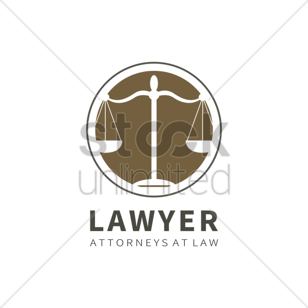 Law logo element Vector Image - 1971505 | StockUnlimited