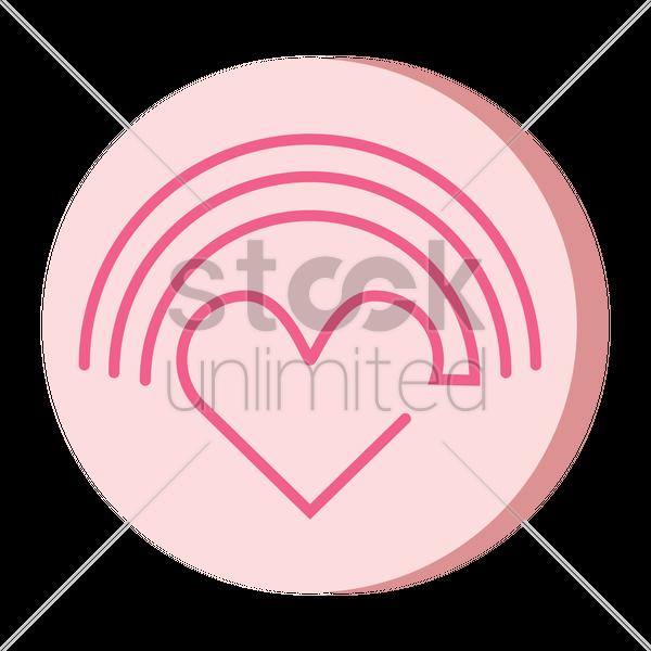 Love Rainbow Vector Image 2019937 Stockunlimited