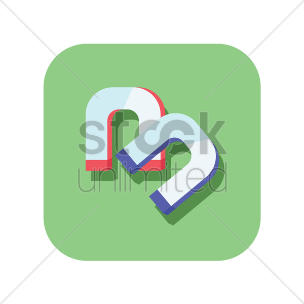 magnets icon vector graphic
