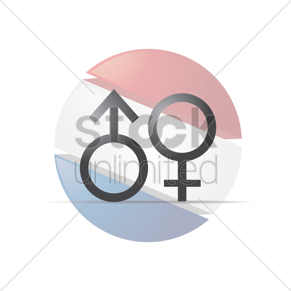 Male And Female Gender Symbols Vector Image 2015701 Stockunlimited