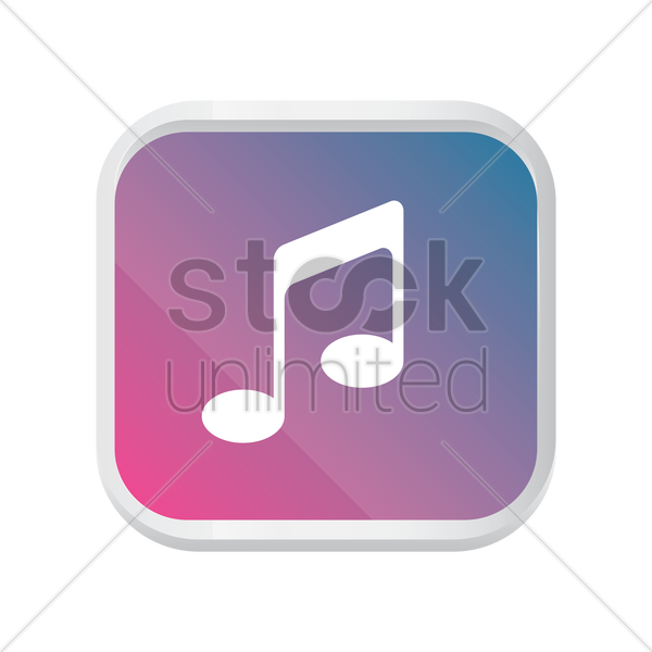 Music player icon Vector Image - 1941685 | StockUnlimited