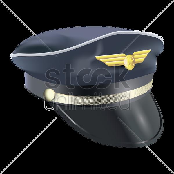 Pilot cap Vector Image - 1806621 | StockUnlimited