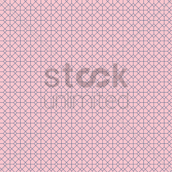 Free seamless geometric background vector graphic