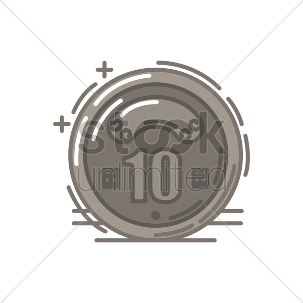 Taiwan Coin Vector Image 2035825 Stockunlimited