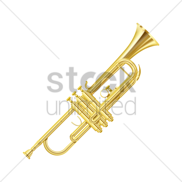 trumpet vector graphic