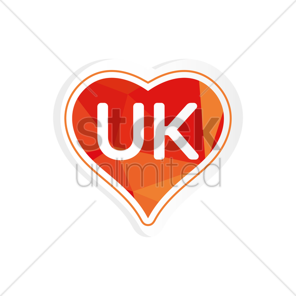Free united kingdom sticker vector graphic