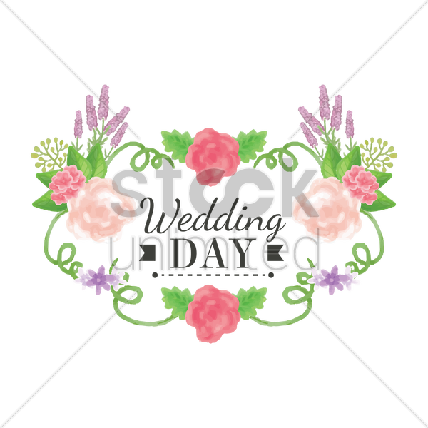 Wedding Card Design Vector Image 1789957 Stockunlimited