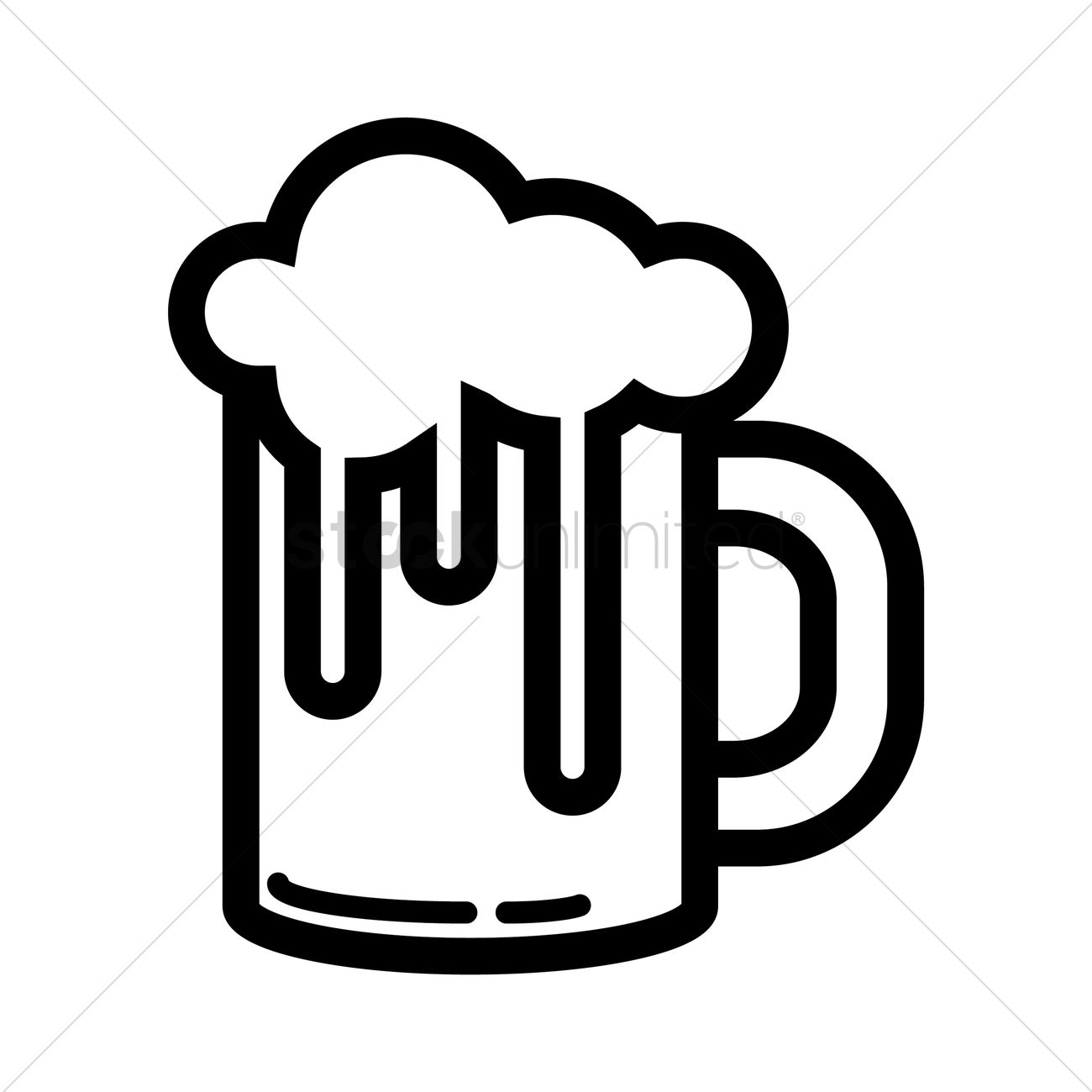 a glass of beer vector image 2017001 stockunlimited rh stockunlimited com beer vector art beer vector mechanics dynamics