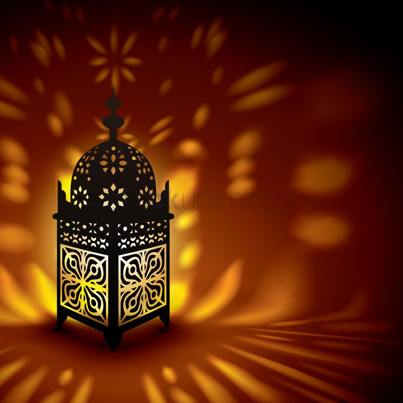 a lit ramadan lantern vector image 1826849 stockunlimited a lit ramadan lantern vector image