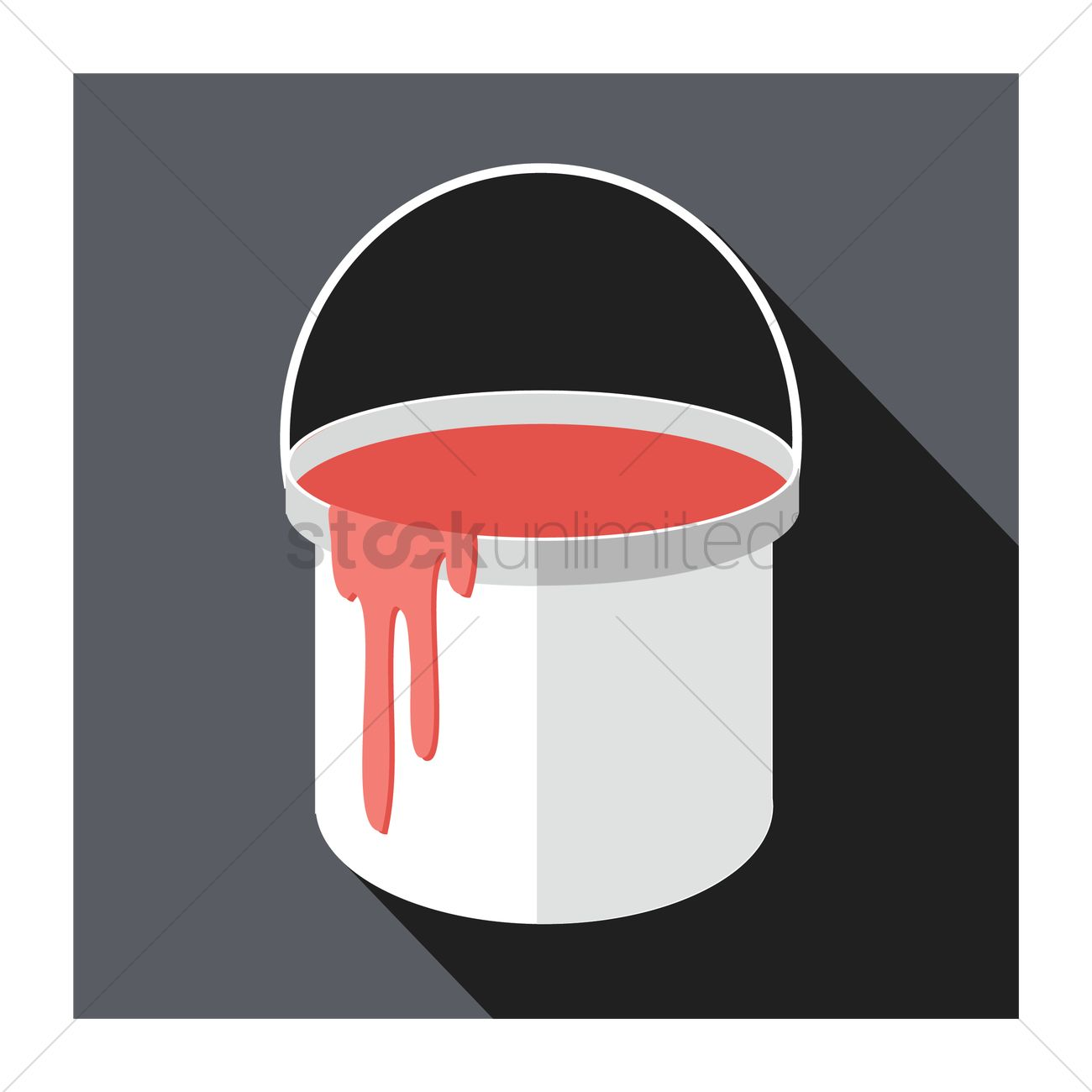 Free A Paint Bucket Vector Image 1246645 Stockunlimited