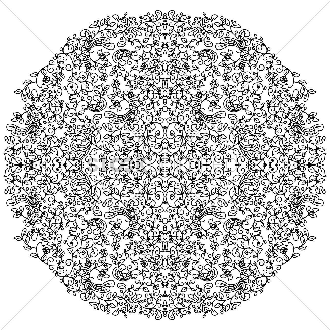 Uncategorized Intricate Pattern abstract intricate pattern design vector image 1959753 graphic