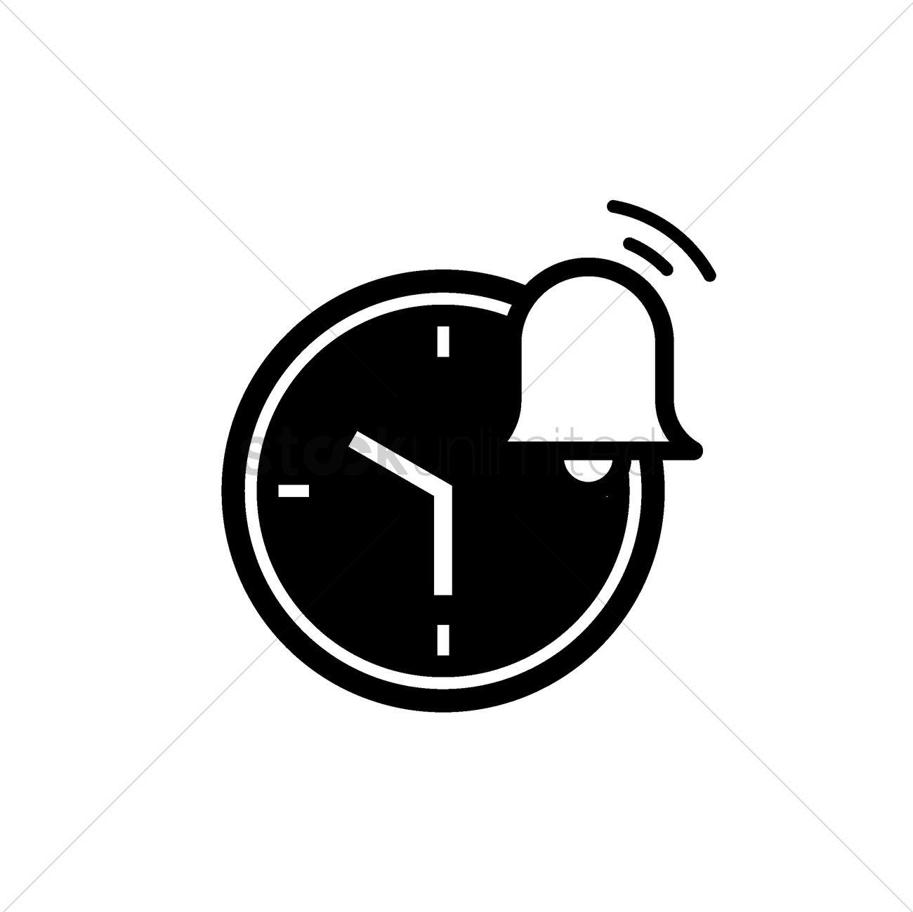 Alarm clock icon Vector Image - 2006521 | StockUnlimited